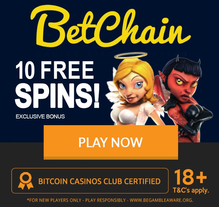 Betchain exclusive bonus